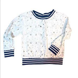 Cat & Jack lace sweatshirt